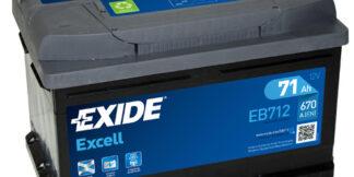 Aku EXIDE 12/71 57113 EXCELL