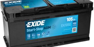 Aku EXIDE 12/105 AGM
