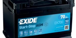Aku EXIDE 12/70 57099 AGM