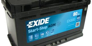 Aku EXIDE 12/80 58099 AGM