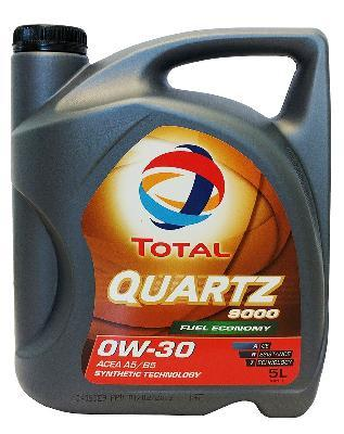 TOTAL QUARTZ 9000 VOLVO 0W30 5L